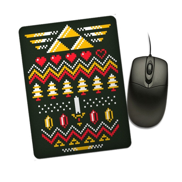Triforce Holiday - Mousepad