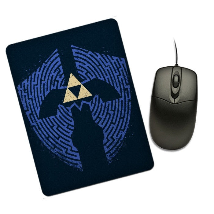 Triforce Labrynth - Mousepad