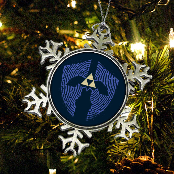 Triforce Labrynth - Ornament