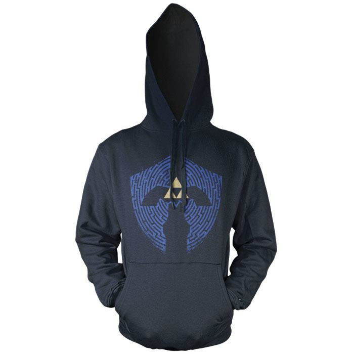 Triforce Labrynth - Pullover Hoodie