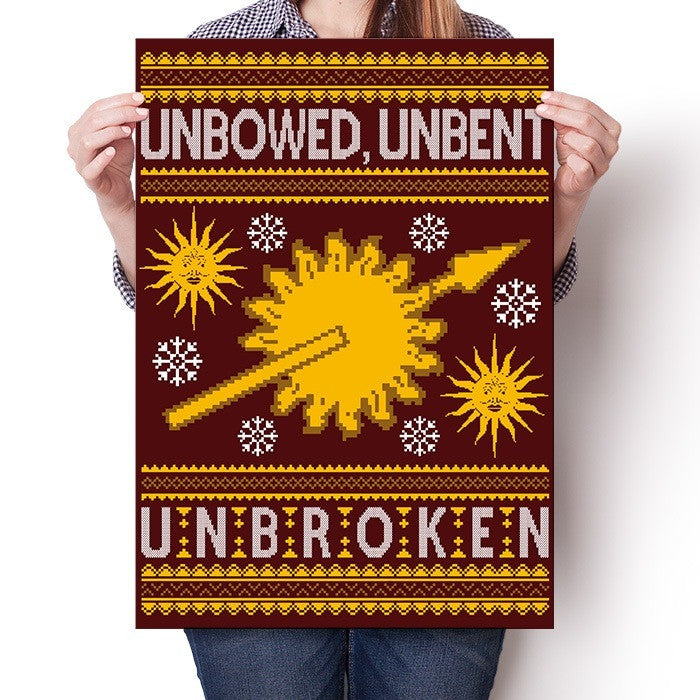 Unbowed. Unwrapped. Unbroken. - Poster