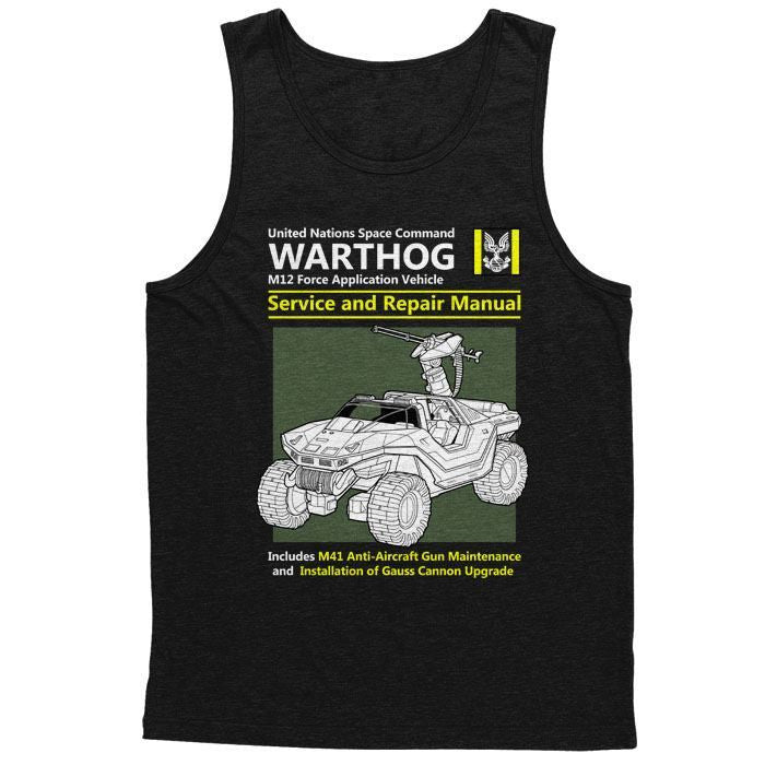 Warthog Service and Repair Manual - Men's Tank Top