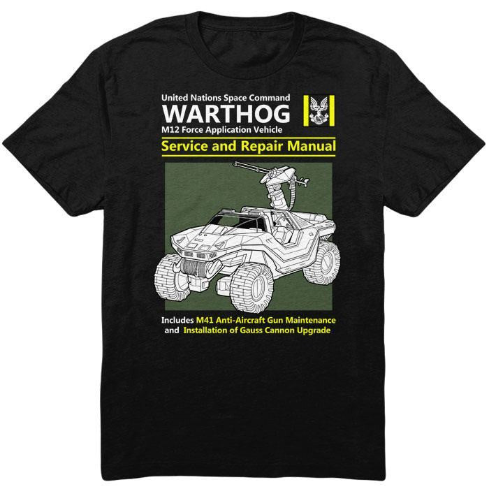 Warthog Service and Repair Manual - Men's T-Shirt