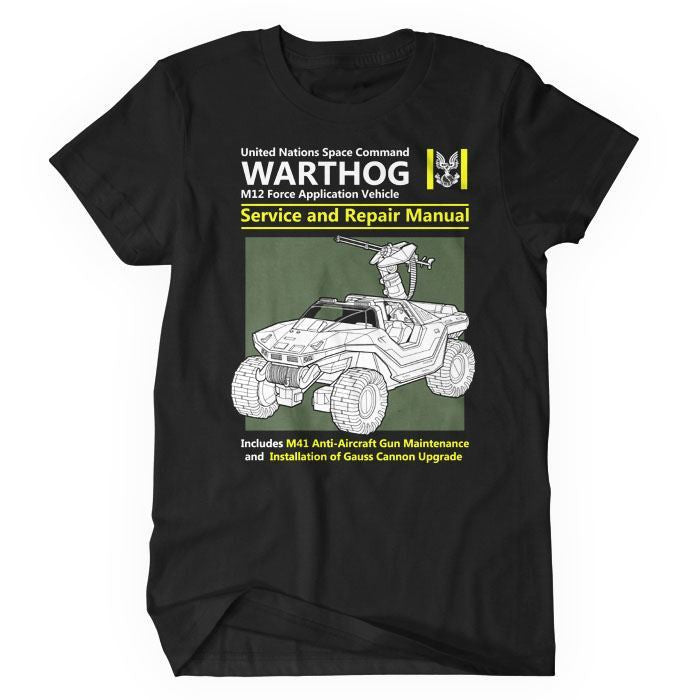 Warthog Service and Repair Manual - Women's T-Shirt