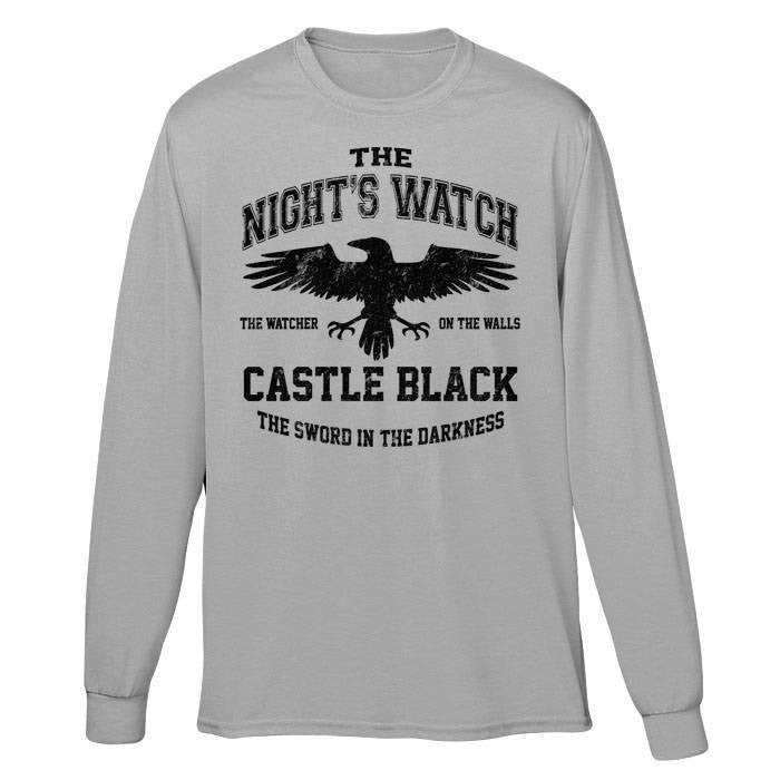 Watchers on the Wall (Black) - Long Sleeve T-Shirt (Unisex)