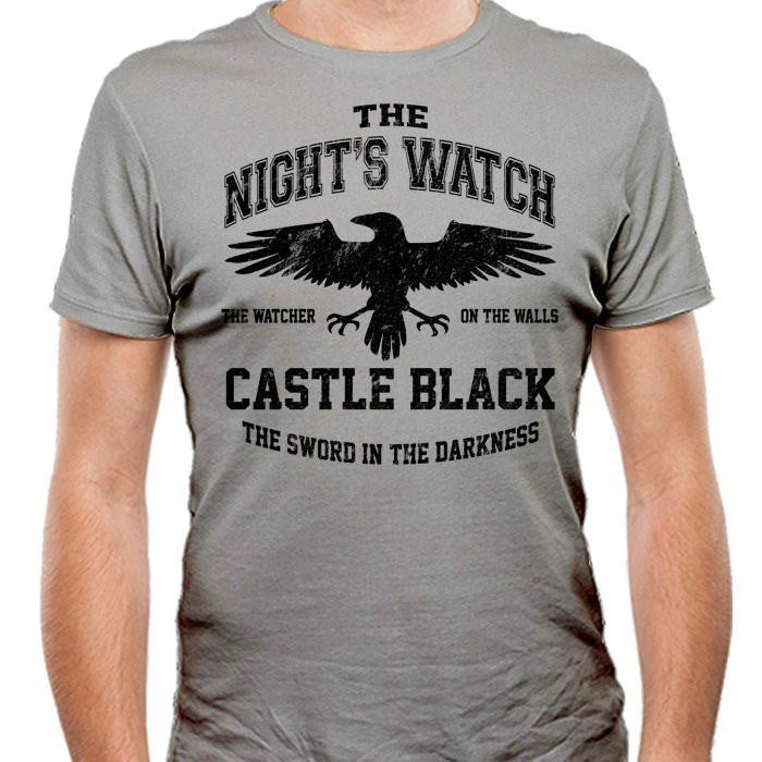 Watchers on the Wall (Black) - Men's Fitted T-Shirt