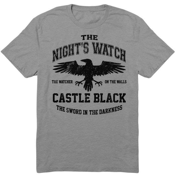 Watchers on the Wall (Black) - Men's T-Shirt