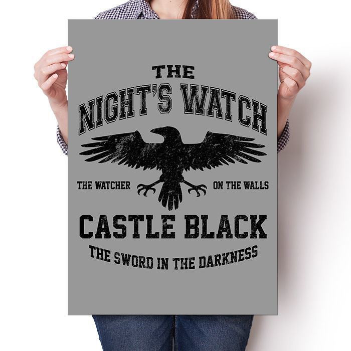 Watchers on the Wall (Black) - Poster