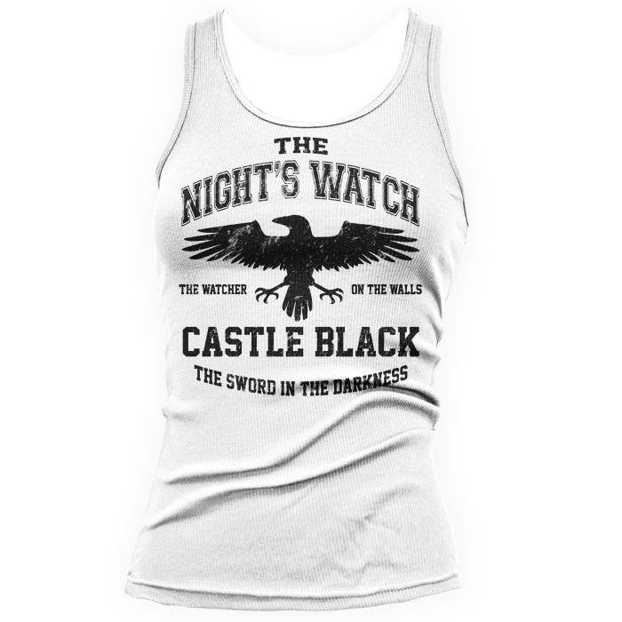 Watchers on the Wall (Black) - Women's Tank Top