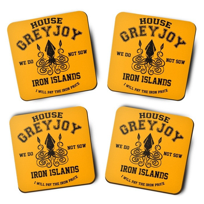 We Do Not Sow (Black) - Coasters