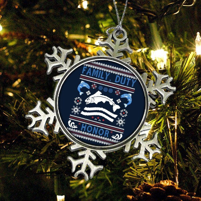 We Wish You a Tully Christmas - Ornament