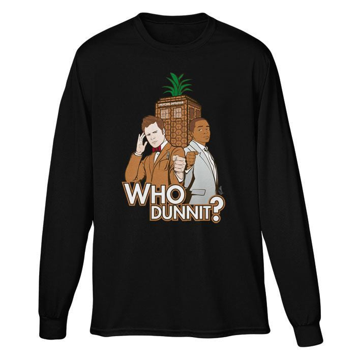 Who Dunnit? - Long Sleeve T-Shirt (Unisex)