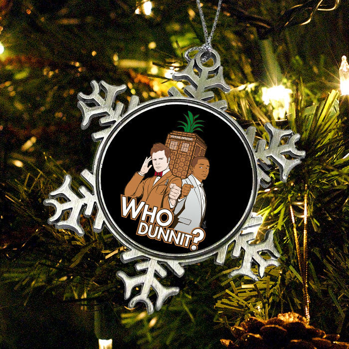 Who Dunnit? - Ornament