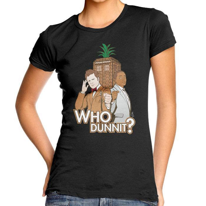 Who Dunnit? - Women's Fitted T-Shirt
