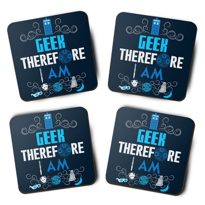 Who's Geeky - Coasters