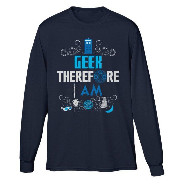 Who's Geeky - Long Sleeve T-Shirt (Unisex)