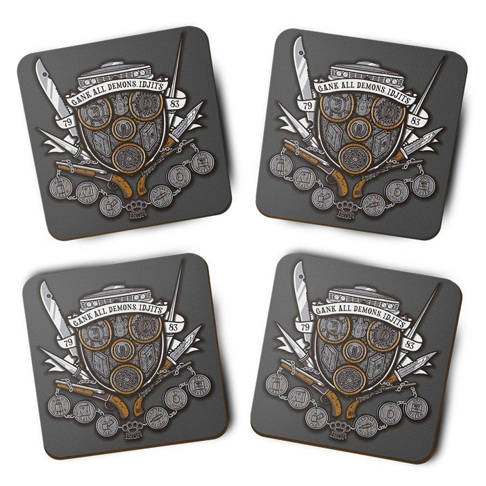 Winchesters Crest - Coasters
