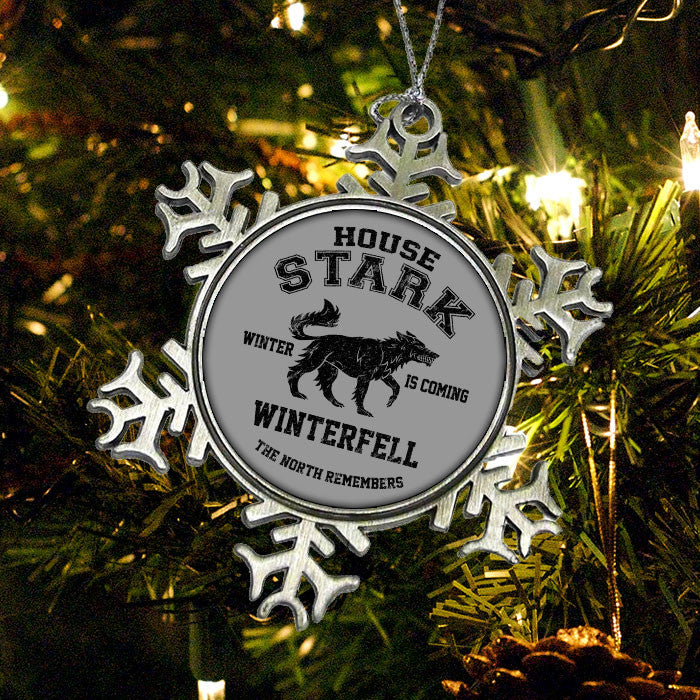 Winter is Coming (Black) - Ornament