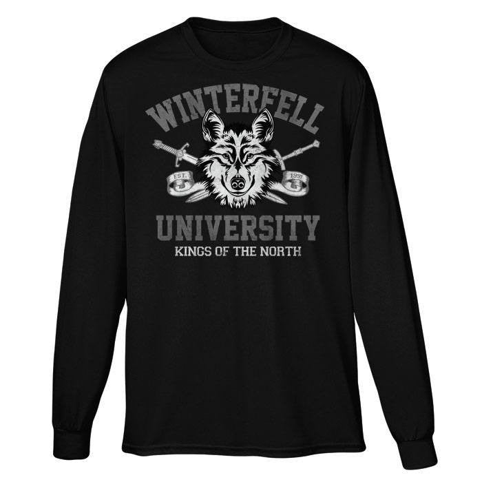 Winterfell University - Long Sleeve T-Shirt (Unisex)