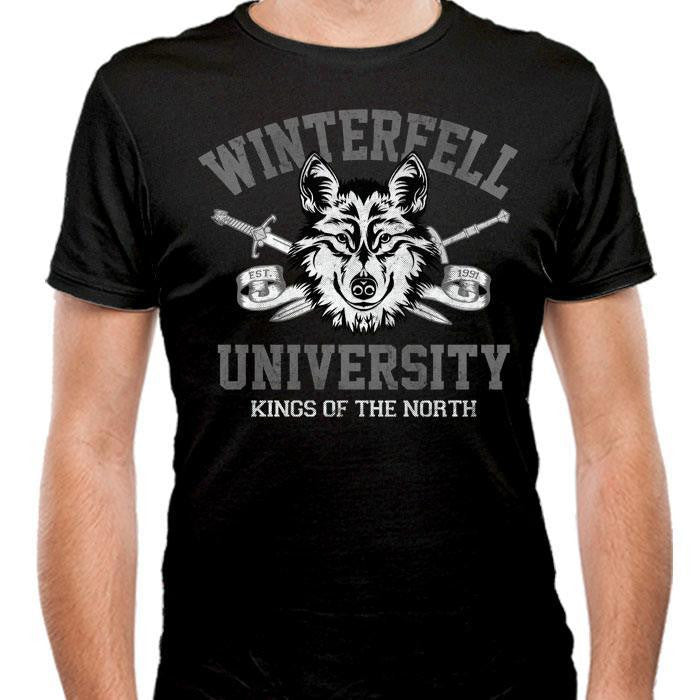 Winterfell University - Men's Fitted T-Shirt
