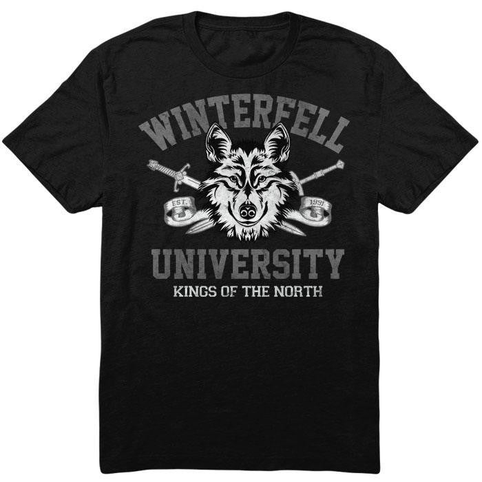 Winterfell University - Men's T-Shirt