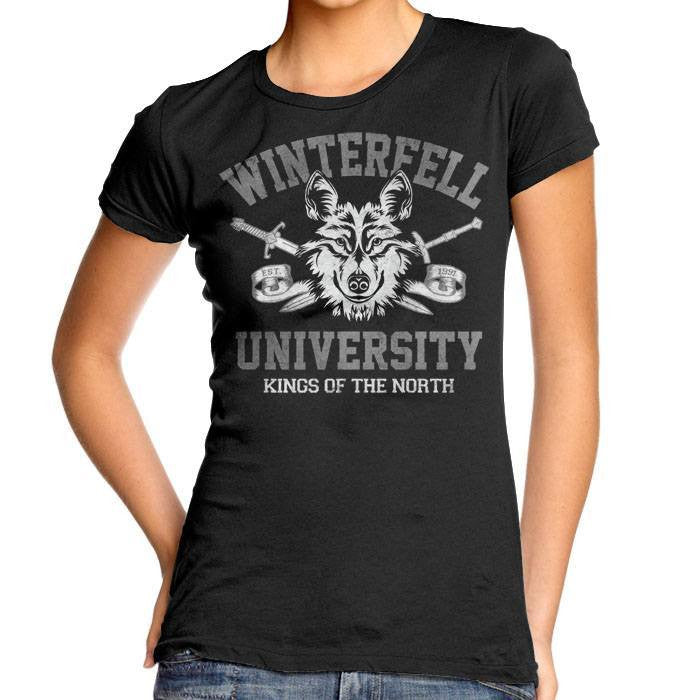 Winterfell University - Women's Fitted T-Shirt