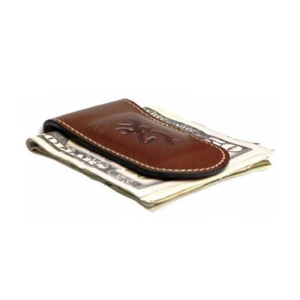 Browning Leather Money Clip