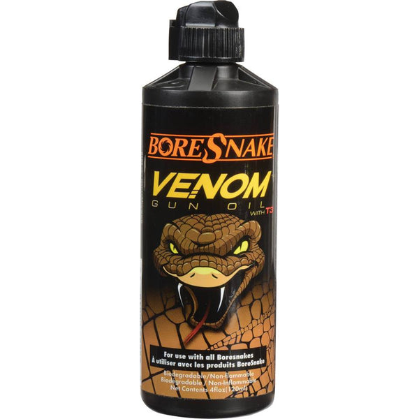 Hoppe's BoreSnake Venom Gun Oil with T3