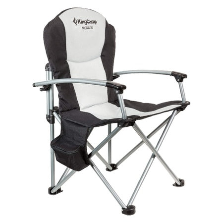 KingCamp Deluxe Folding CHAIR (BLACK)