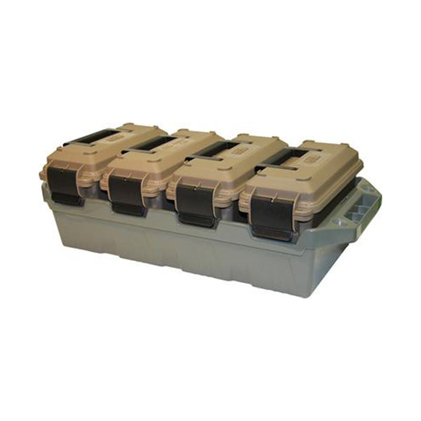 MTM 4-Can Ammo Crate