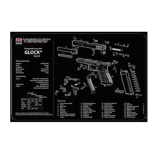 Glock Maintenance Mat