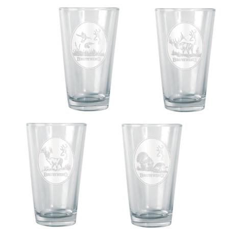 Browning Glasses Set (4pc)
