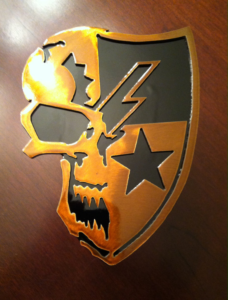 75th Regiment DUI Skull Edition Hitch Cover