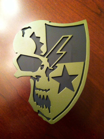 75th Ranger Regiment DUI Skull Edition Wall Sign