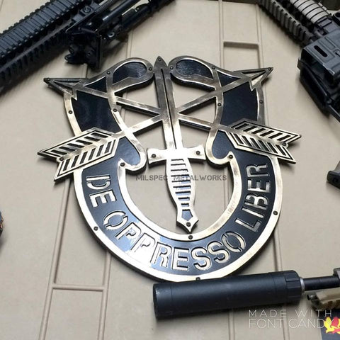 Special Forces Crest Wall Art