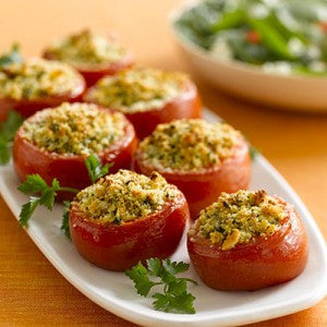 Pudding Pie Cookery School Stuffed Tomatoes