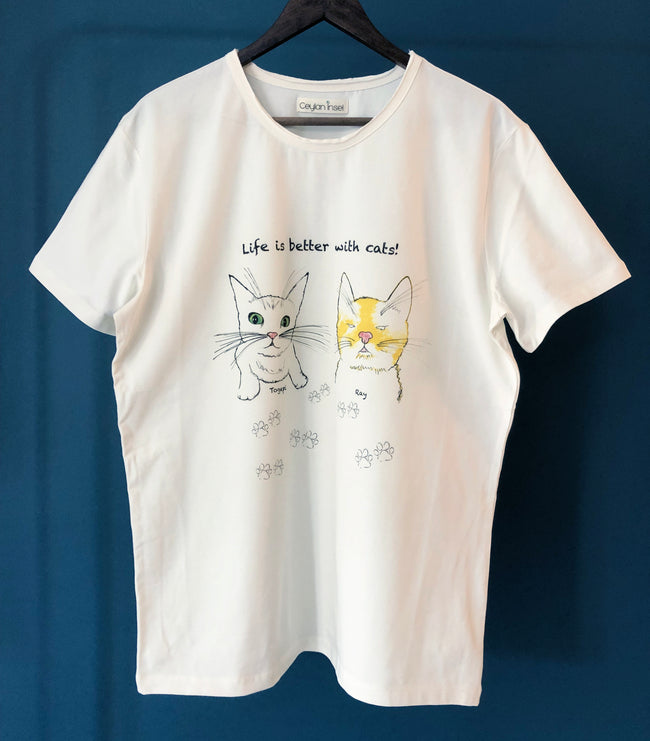 Ceylan x Happy Cat T-shirt 2