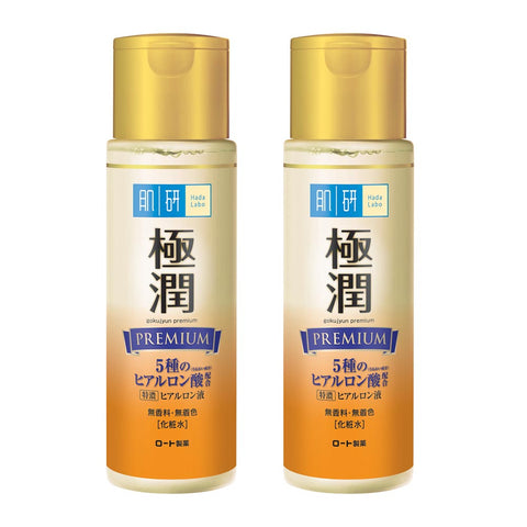 HADA LABO Premium Hydrating Lotion 170ml Pack of 2