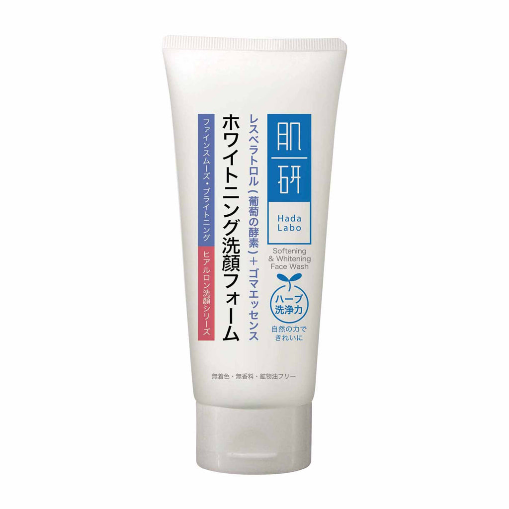 HADA LABO Softening & Whitening Face Wash 100g