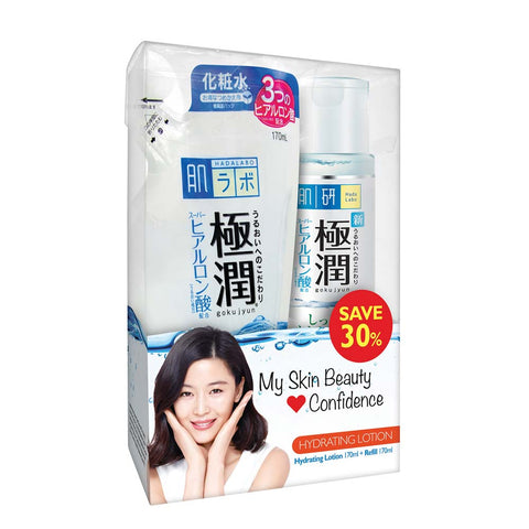 Hada Labo Hydrating Lotion 170ml +Refill 170ml