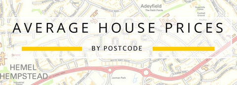 Average House Prices by Postcode