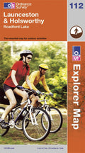 OS Explorer Map of Launceston & Holsworthy (OL112) Paper Front Cover
