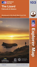 OS Explorer Map of The Lizard (OL103) Paper Front Cover