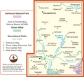 OS Explorer Map of Launceston & Holsworthy (OL112) Area Map