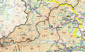 A closer look at the Aberdeenshire Moray and Angus County Wall Map