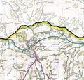 A closer look at the Brecon Beacons National Park Wall Map