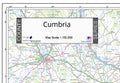 Cumbria Postcode Map Detail