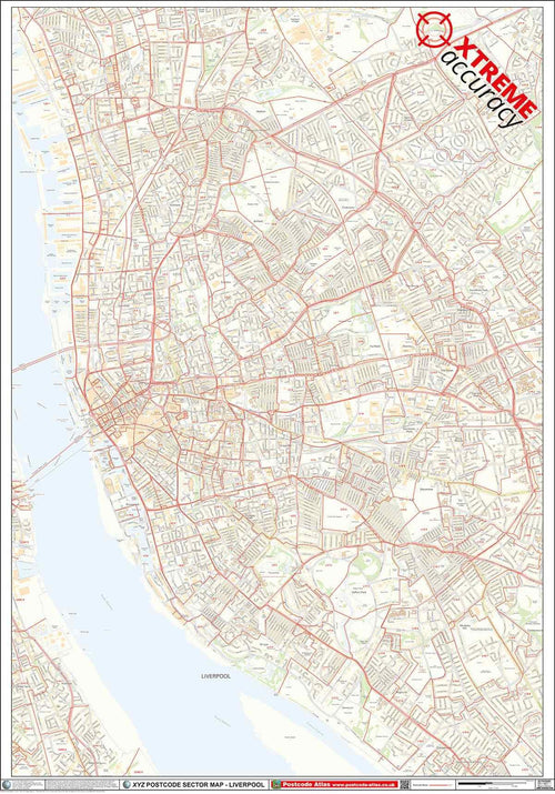 Liverpool Postcode Map