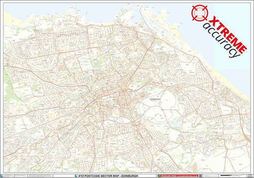 Edinburgh Postcode Map