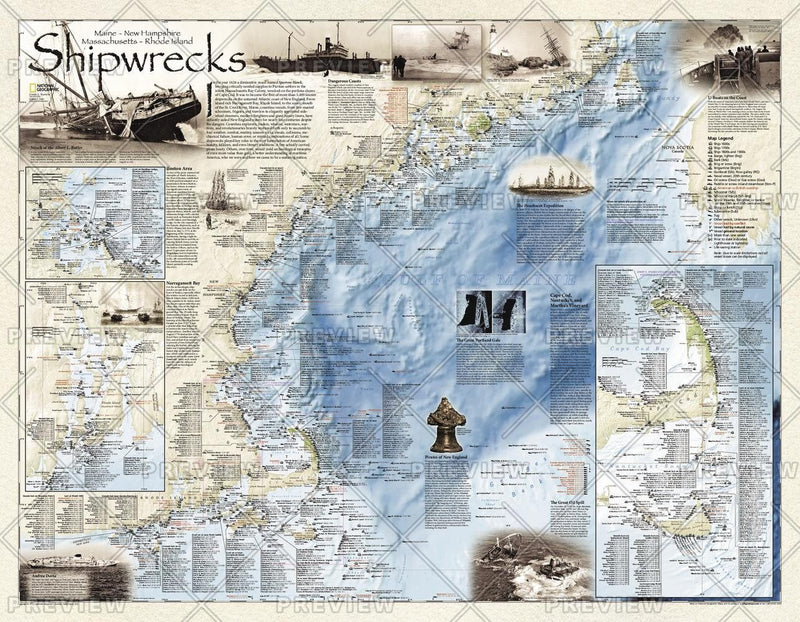 Shipwrecks of the Northeast